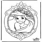 Personagens de banda desenhada - Princesa Disney Ariel
