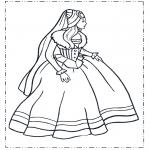 Todos os tipos de - Princesa em vestido