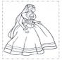 Princesa em vestido