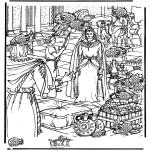 Pinturas bibel - Procura 15 jarras Sabá
