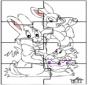 Puzzle do coelho de Páscoa 2