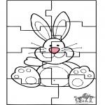 Tema - Puzzle do coelho de Páscoa 3