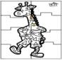 Puzzle girafa