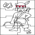 Ofícios - Puzzle Índio