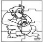 Puzzle - Macaco