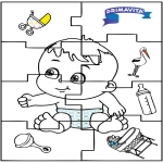 Tema - Quebra-cabeça do bebê 2