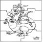 Quebra-cabeça - Dragão