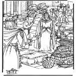 Pinturas bibel - Rainha de Sabá