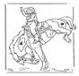 Rapariga a cavalo 2