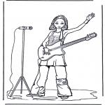 Todos os tipos de - Rapariga com guitarra