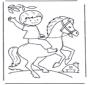 Rapaz a cavalo