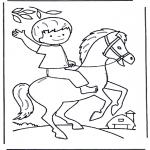Animais - Rapaz com cavalo