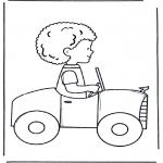 Todos os tipos de - Rapaz no carro