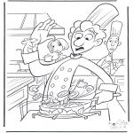 Personagens de banda desenhada - Ratatouille 1