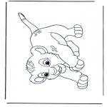 Personagens de banda desenhada - Rei Leão Simba