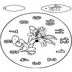 Ofícios - Relógio Buggs Bunny