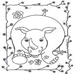 Animais - Rinoceronte 2