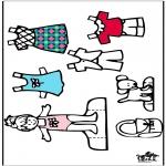 Ofícios - Roupas - boneca de papel 4