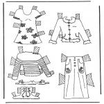 Ofícios - Roupas de boneca de papel 6