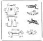 Roupas de boneca de papel 7