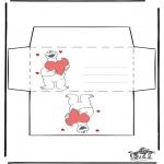 Tema - S. Valentim envelope 2