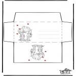 Ofícios - S. Valentim envelope