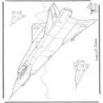 Todos os tipos de - Saab J 35 F Draken