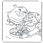 Personagens de banda desenhada - Shrek 2