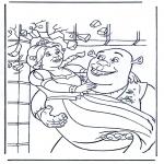 Personagens de banda desenhada - Shrek 3