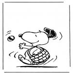 Personagens de banda desenhada - Snoopy 1