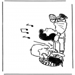Personagens de banda desenhada - Snoopy 2