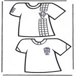 Todos os tipos de - T-shirts de futebol 1