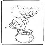 Personagens de banda desenhada - Tinkerbel 1