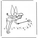 Personagens de banda desenhada - Tinkerbel 2