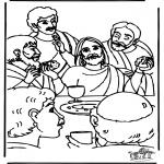 Pinturas bibel - Última Ceia