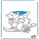 Inverno - Urso de ski