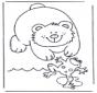 Urso e sapo