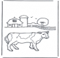 Vaca na quinta