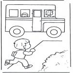 Crianças - Vamos para o autocarro