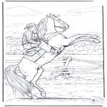 Todos os tipos de - Vaqueiro a cavalo