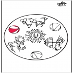 Pinturas Mandala - Verão - Mandala