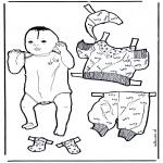 Ofícios - Vestir bebé