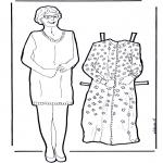 Ofícios - Vestir boneca da avó