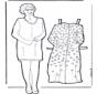 Vestir boneca da avó