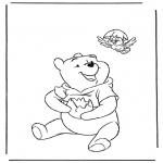 Personagens de banda desenhada - Winnie The Pooh 8
