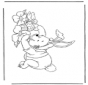 Winnie The Pooh Coelhinho de Páscoa