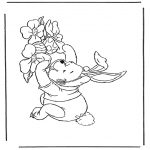 Tema - Winnie The Pooh com Páscoa
